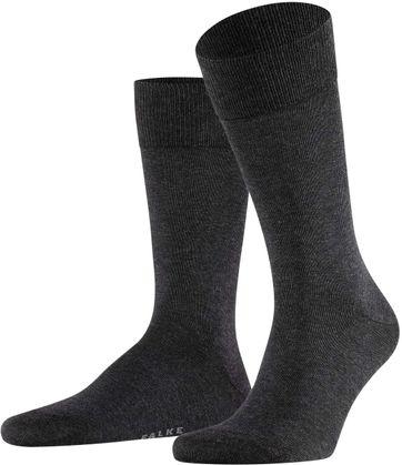 Falke Happy Socken 2 Paar Dunkelgrau Melange