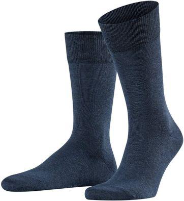 Falke Happy Socks 2 Pair Dark Blue Melange