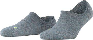 Falke Keep Warm Sneaker Socke Grau