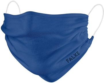 Falke Mouth Mask Blue 2 Pack