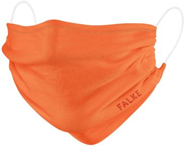 Falke Mouth Mask Orange 2 Pack