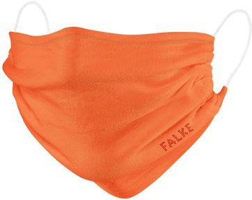 Falke Mouth Mask Orange 2 Pack