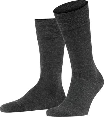 FALKE Sensitive Socken Berlin Anthrazit 3080