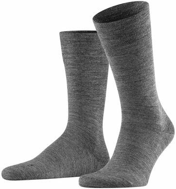 FALKE Sensitive Socken Berlin Grau 3070