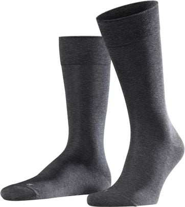 FALKE Sensitive Socken Malaga Anthrazit 3190