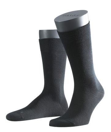 FALKE Sensitive Socken Malaga Schwarz 3000