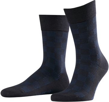 FALKE Sensitive Socken Square Allover 6375