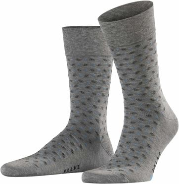 Falke Socke Sensitive Jabot Grau