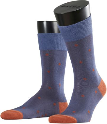 FALKE Socken Dot Blue 6815