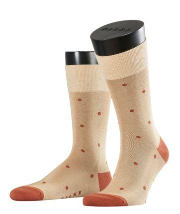 FALKE Socken Dot Sand 4320