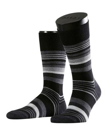 Falke Socken Schwarz/Grau