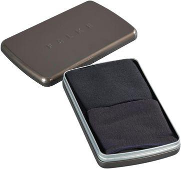Falke Sokken Gift Box Navy & Zwart