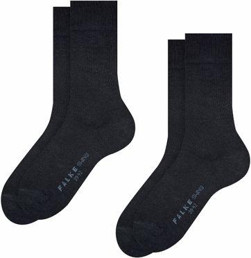 Falke Swing Sokken 2-Pack Navy