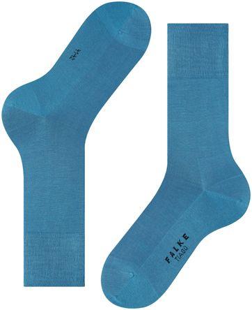 FALKE Tiago Socken Blau 6326