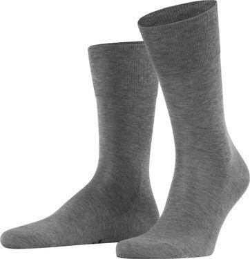 FALKE Tiago Socken Grau 3390