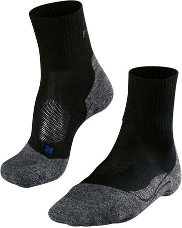 Falke TK2 Hikingsocks Short Black