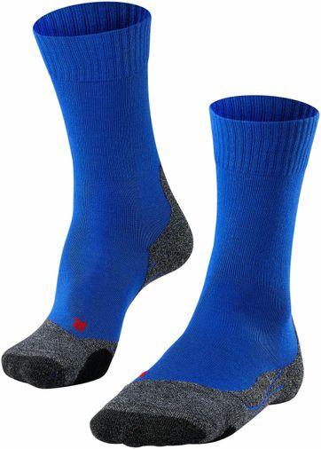 FALKE TK2 Wander Socken Blau