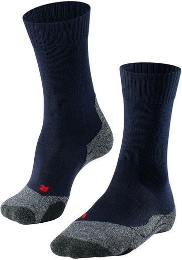 FALKE TK2 Wander Socken Navy