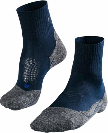 FALKE TK2 Wander Socken Short Dunkelblau