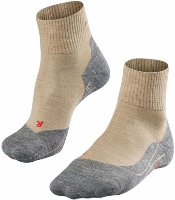 Falke TK5 Hikingsocks Short Beige