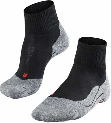 Falke TK5 Hikingsocks Short Black