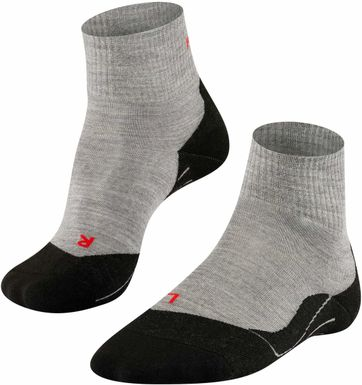 Falke TK5 Hikingsocks Short Grey