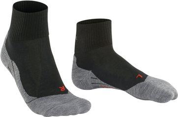 FALKE TK5 Wander Socken Short Schwarz