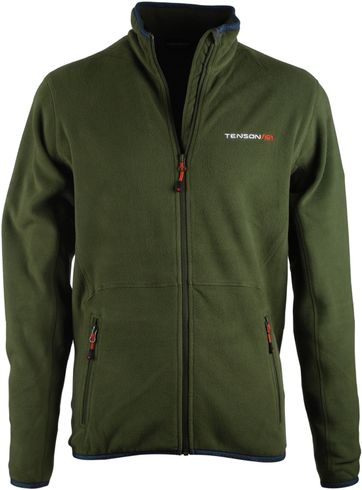 Fleece Vest Tenson Groen