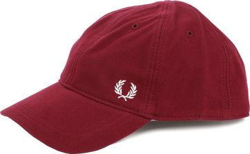 Fred Perry A27 Cap Bordeaux