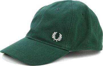 Fred Perry A27 Cap Dark Green