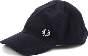 Fred Perry A27 Cap Donkerblauw