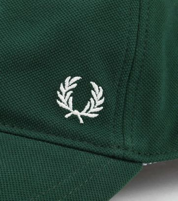 Fred Perry A27 Cap Donkergroen