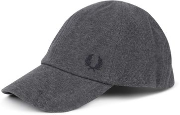 Fred Perry Classic Cap Antraciet