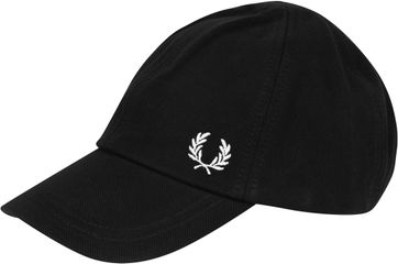 Fred Perry Classic Cap Black