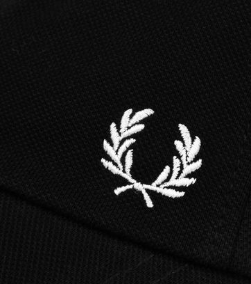 Fred Perry Classic Cap Zwart