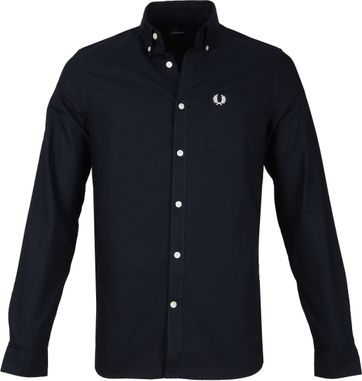 Fred Perry Classic Hemd Navy