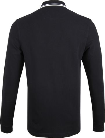 Fred Perry LS Polo Zwart 102