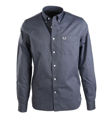 Fred Perry Overhemd Navy