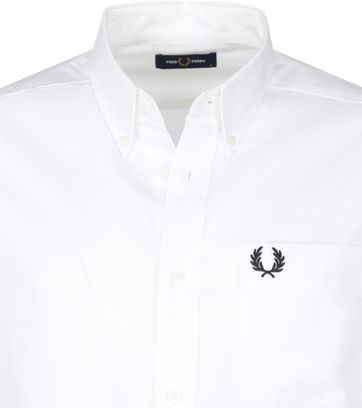 Fred Perry Oxford Hemd Wit