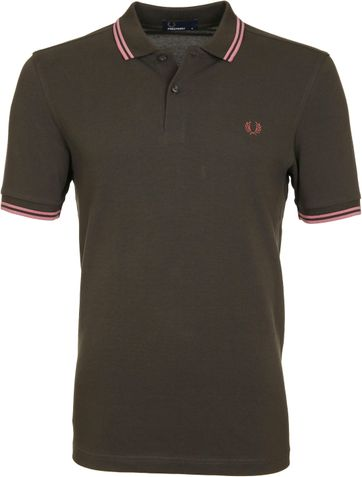 Fred Perry Polo 408 Groen