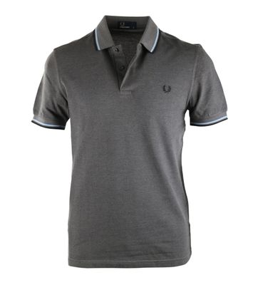 Fred Perry Polo Anthrazit E81