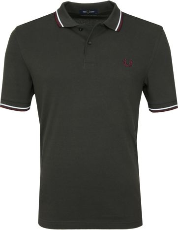 Fred Perry Polo Antraciet I75