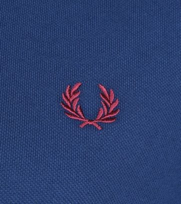 Fred Perry Polo Blauw 588