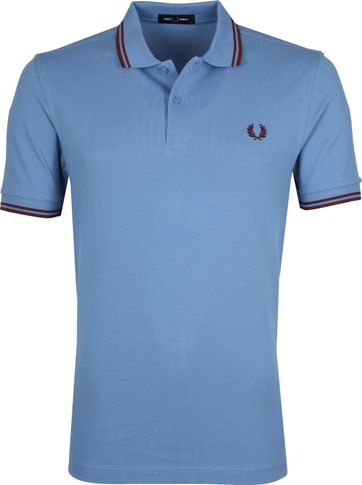 Fred Perry Polo Blauw K96