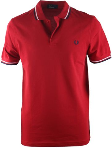 Fred Perry Polo Blood 394