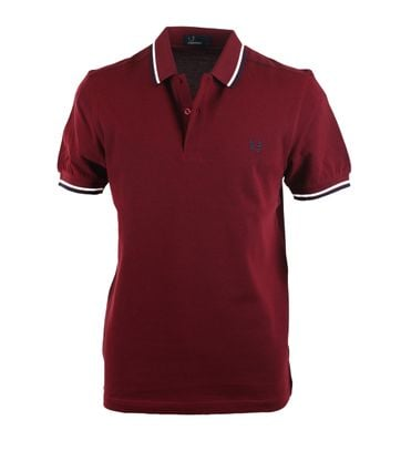 Fred Perry Polo Bordeaux E07