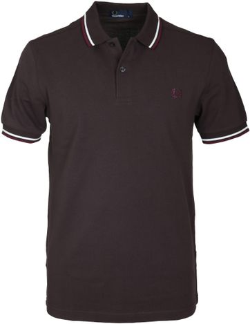Fred Perry Polo Braun F65