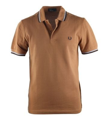 Fred Perry Polo Caramel 450