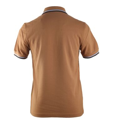 Detail Fred Perry Polo Caramel 450