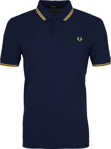 Fred Perry Polo Carbon Blue 266